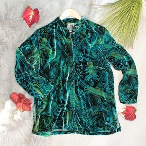 Sweaters - Chicos | Silk- Blue, Emerald & Teal Cardigan Coat